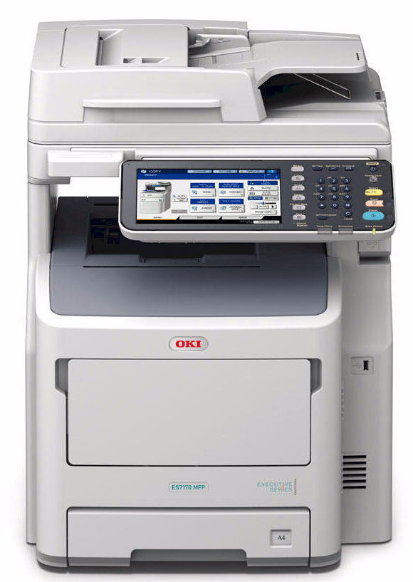 OKI ES7480, ES7480dn, ES7480dfn MFP Executive Series, Colour MFP, MFC, All in One, multi-function printer. SALES - SUPPORT - SUPPLIES